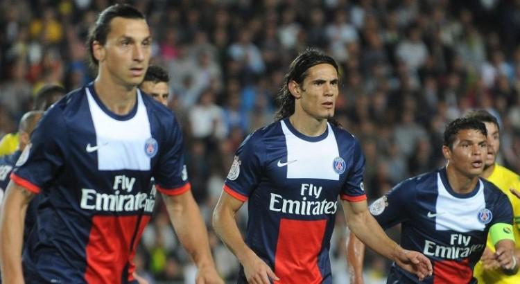 Ibrahimovic aux côtés de Cavani